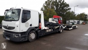 Lohr car carrier trailer truck