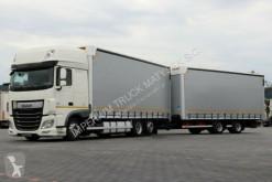 camion remorque DAF XF 460/JUMBO 120M3/EURO 6 / ACC / 7,7M + 7,7M