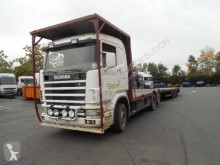 View images Scania R124 420 trailer truck