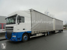 camion remorque DAF XF105-460 SC- Jumbozug-Durchlade-INTARDER- ATE