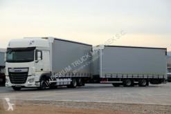 camion cu remorca obloane laterale suple culisante (plsc) DAF