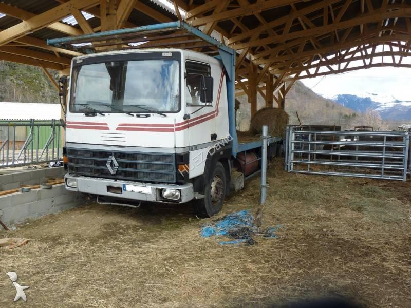 camion remorque renault plateau porte paille gamme r 340