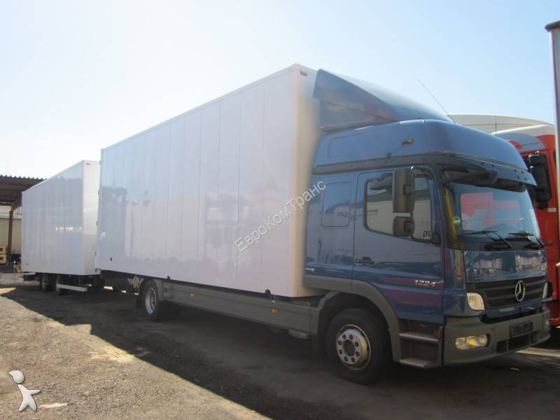 camion remorque mercedes fourgon atego 1224 nl 4x2 gazoil euro 4 occasion n 650574. Black Bedroom Furniture Sets. Home Design Ideas