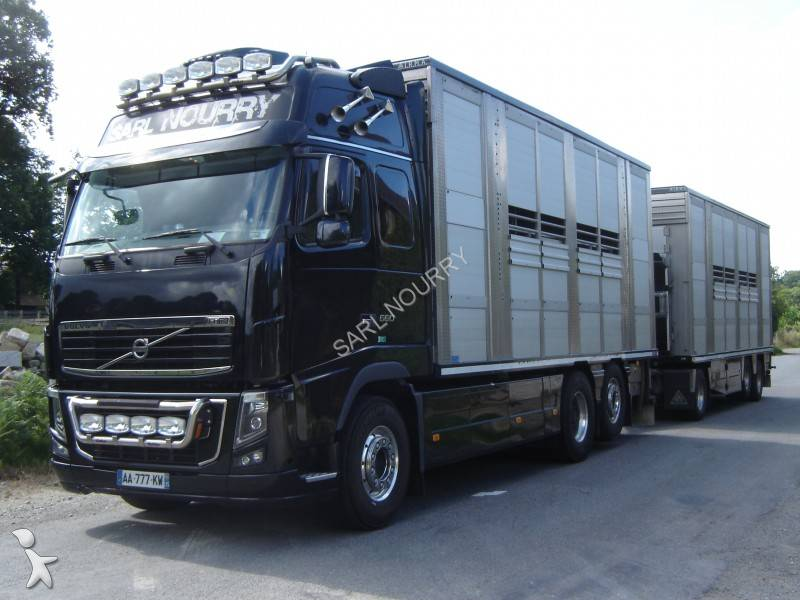 camion remorque b taill re occasion volvo fh16 660 annonce n 682212. Black Bedroom Furniture Sets. Home Design Ideas