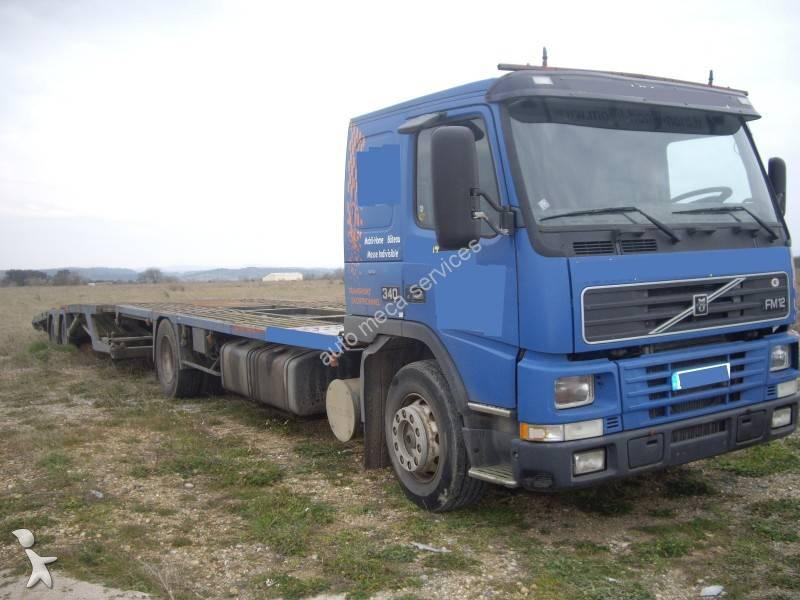 camion remorque volvo plateau fm12 340 4x2 gazoil euro 3 occasion n 716097. Black Bedroom Furniture Sets. Home Design Ideas