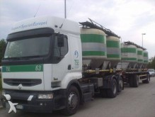 camión remolque cisterna gránulos / polvo Renault