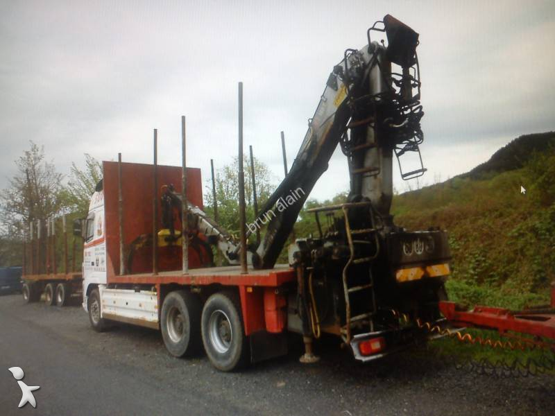 camion remorque volvo grumier fh16 580 6x4 gazoil euro 5 occasion n 1334391. Black Bedroom Furniture Sets. Home Design Ideas