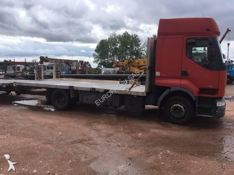 camion remorque renault plateau premium 420 dci euro 3