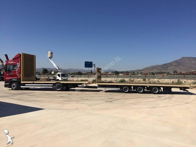 camion remorque plateau occasion scania r 380 gazoil annonce n 2106527. Black Bedroom Furniture Sets. Home Design Ideas