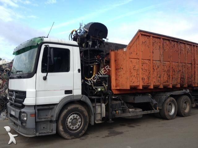camion remorque polybenne occasion mercedes actros 2641 m gazoil annonce n 979034. Black Bedroom Furniture Sets. Home Design Ideas