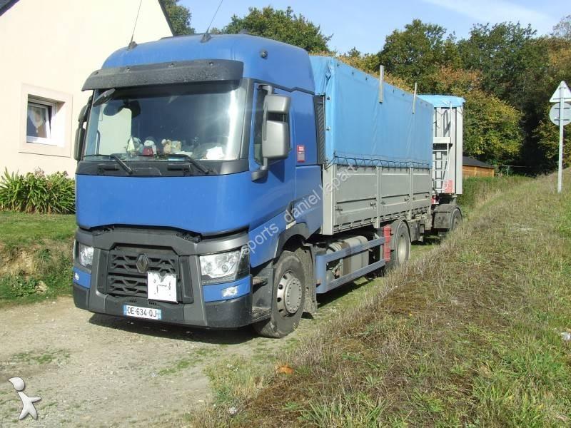 camion remorque renault benne kaiser c r ali re gamme t 460 4x2 euro 6 occasion n 1796793. Black Bedroom Furniture Sets. Home Design Ideas