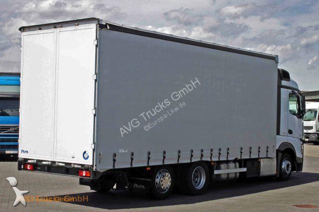 camion remorque mercedes rideaux coulissants  plsc  2542 l