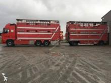 camion remorque Volvo bétaillère bovins FH16 500 Gazoil Euro 5 occasion - n°3056596 - Photo 3