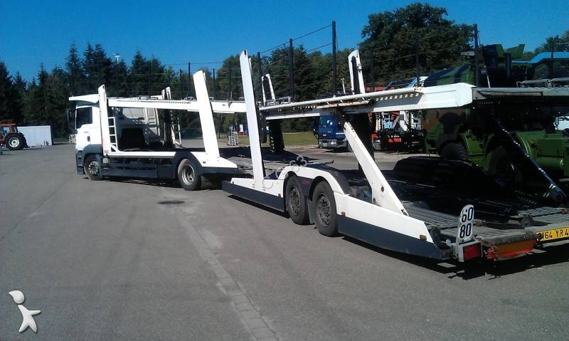 camion remorque man porte voitures tga fll xl 4x2 gazoil occasion n 850401. Black Bedroom Furniture Sets. Home Design Ideas