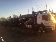 camion remorque Scania porte voitures P 410 4x2 Gazoil Euro 5 occasion - n°3056925 - Photo 4