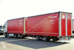 Zobaczyć zdjęcia Ciężarówka z przyczepą DAF XF 460 / JUMBO 120M3 / EURO 6 / 7,7M + 7,7M /