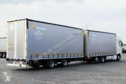 Zobaczyć zdjęcia Ciężarówka z przyczepą DAF XF 460/JUMBO 120M3/EURO 6/7,7M + 7,7M/ NEW TIRES