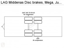 Voir les photos Camion remorque nc Middenas Disc brakes, Mega, Jumbo