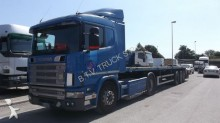 ensemble routier fourgon Scania