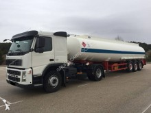 Volvo oil/fuel tanker tractor-trailer