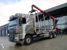 tractora semi DAF FAT XF 105 Spacecab 6X4 Epsilon kraan