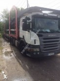 ensemble routier porte voitures Scania