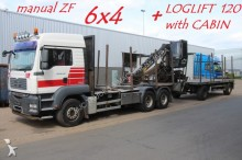 tractora semi MAN TGA 26.440 - 6x4 - MANUAL ZF - LOGLIFT 120 CABIN