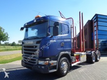 tractora semi Scania G480 Woodtruck / Full Steel / 573.000 KM / 6x4