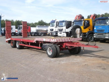 ensemble routier nc semi-lowbed drawbar trailer + ramps