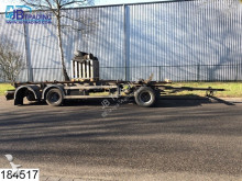 damaged container tractor-trailer