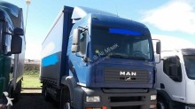 MAN tarp tractor-trailer