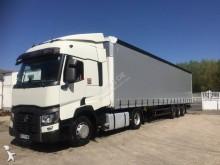 Renault tautliner tractor-trailer