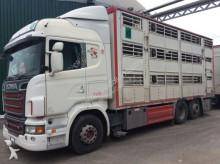 ensemble routier bétaillère Scania