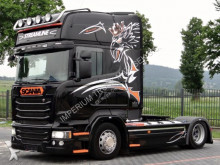 ensemble routier porte engins Scania