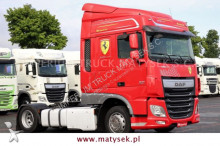 DAF heavy equipment transport tractor-trailer