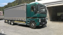 Renault dropside flatbed tarp tractor-trailer