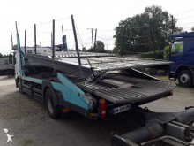 Mercedes car carrier tractor-trailer