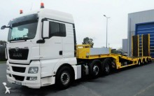 MAN heavy equipment transport tractor-trailer