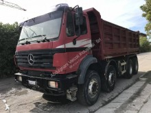 ensemble routier benne Mercedes