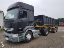 Renault construction dump tractor-trailer