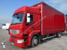 Renault dropside flatbed tarp tractor-trailer