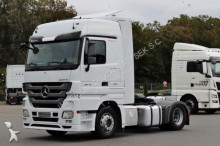 Mercedes heavy equipment transport tractor-trailer