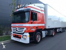 Mercedes box tractor-trailer