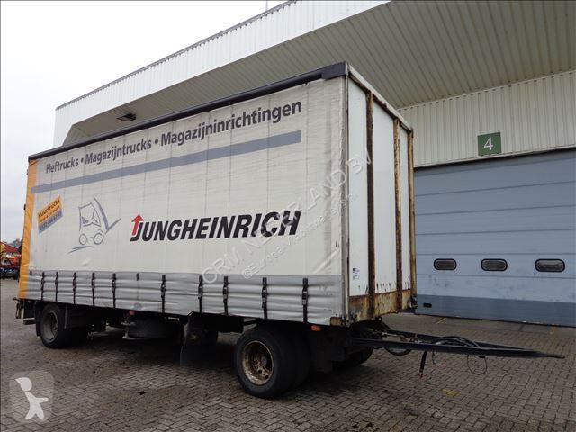 Ensemble routier Van Hool SCHUIFZEIL MET VAST DAK 2-AS