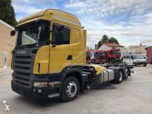 conjunto rodoviário porta contentores Scania