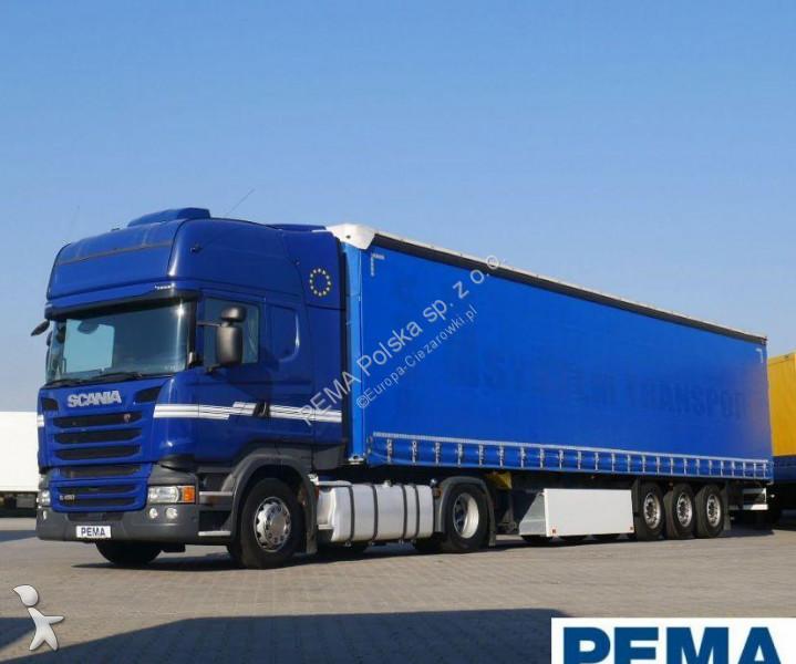 Zestaw drogowy Scania R450 + Naczepa Schmitz PEMA 117152+72980
