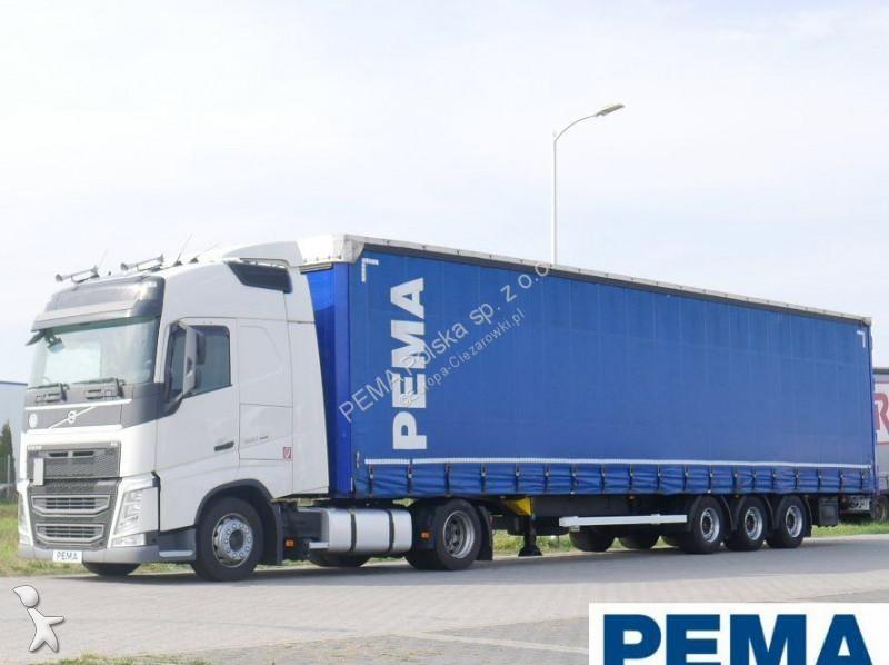 Zestaw drogowy Volvo FH460 + Naczepa KÖGEL PEMA 102060 + 65383