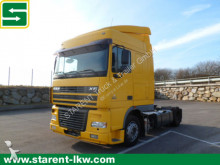 DAF XF 95.430 SC, LOW DECK, Analog Tacho tractor-trailer