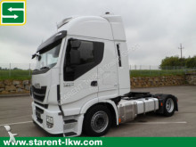 Iveco heavy equipment transport tractor-trailer