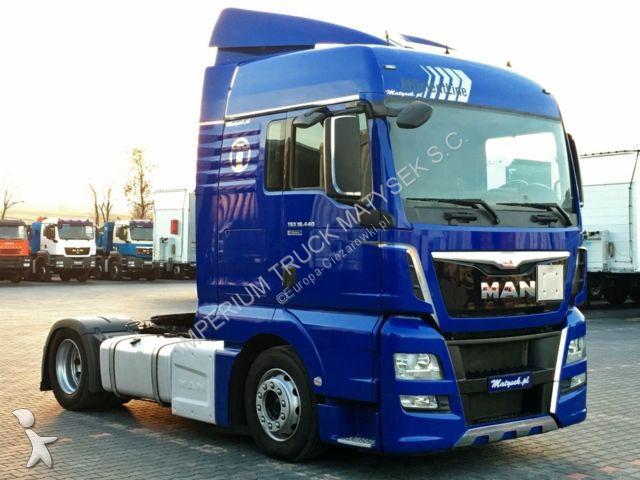Zestaw drogowy MAN TGX 18.440 / XLX/EURO 6/LOW DECK/MEGA/347 000 KM